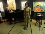 Jeremy Siskind on piano and Tamar Korn on mic