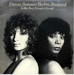 Donna Summer with Barbra Streisand