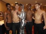 Ebonee Excell with Dancers