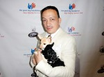 Anthony Rubio with Kimba