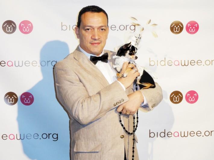 Anthony Rubio with Bogie
