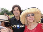 Nacho Figueras and Grace Forster