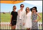 Actress Zoe Saldana, actor Clive Owen, actress Minka Kelly and stylist Rachel Zoe