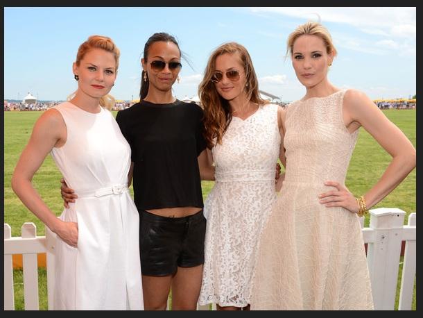 Jennifer Morrison, Zoe Saldana, Minka Kelly and Leslie Bibb