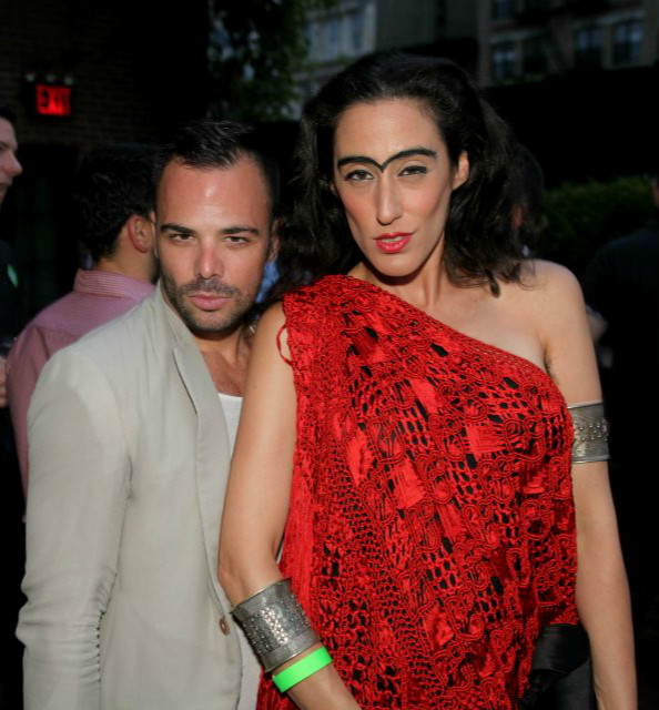 LadyFag (R) with Guest at the Third Annual OASIS benefit for Ali Forney Center