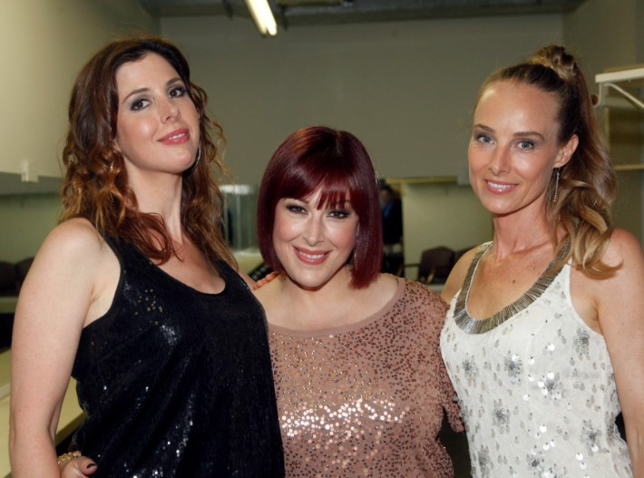 Wilson Phillips Backstage  (Photo by Yoni Levy)