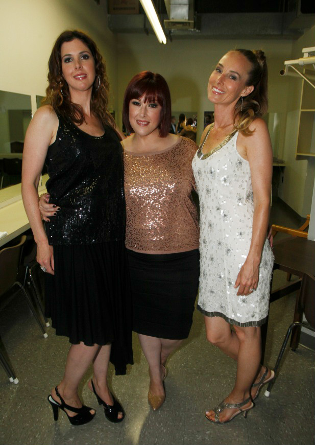 Wilson Phillips Backstage in Dressing Room       (Photo by Yoni Levy)