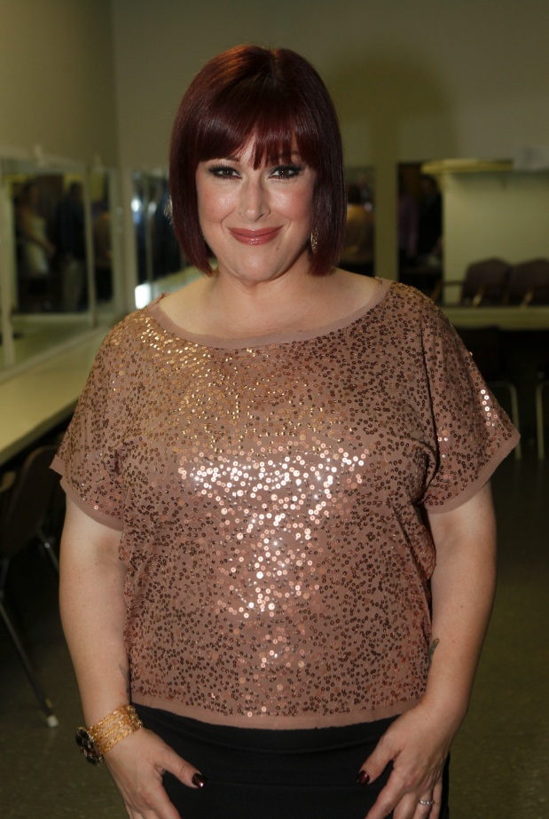 Carnie Wilson of Wilson Phillips Backstage in Dressing Room  (Photo by Yoni Levy)