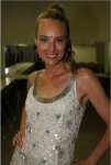 Chynna Phillips of Wilson Phillips Backstage in Dressing Room (Photo by Yoni Levy)