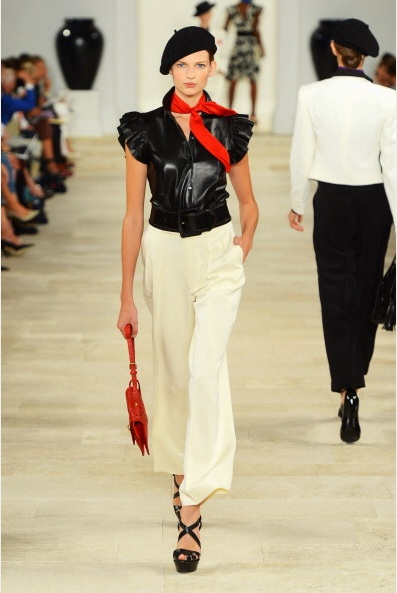 Ralph Lauren Spring 2013 Collection (Photo by FrazerHarrison/GettyImages)