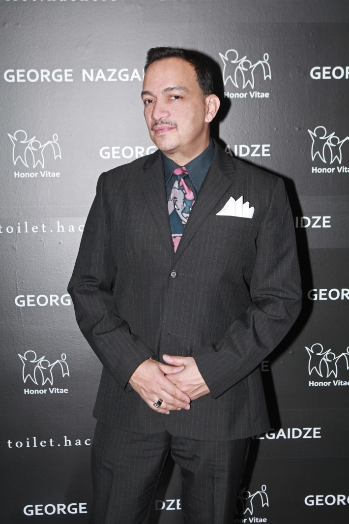 Designer Anthony Rubio attends Charity Meets Fashion