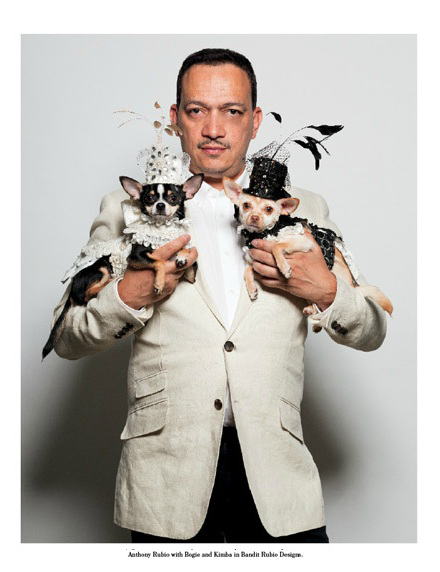 Anthony Rubo Couture Dogs Of New York Book by Paul Nathan