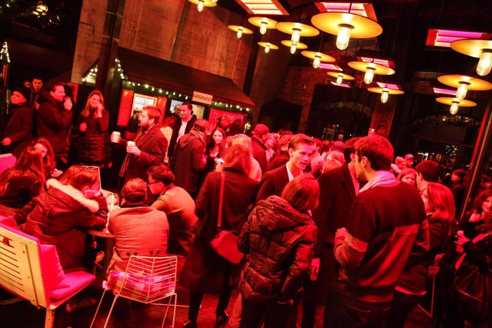 Atmosphere at (BELVEDERE)RED World AIDS Day event