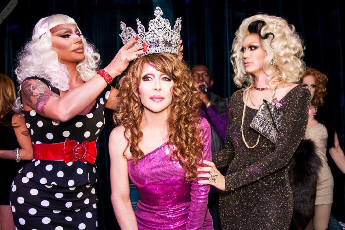 Raven, Chad Michaels  and Manila Luzon  RuPaul's All Stars Drag Race Premiere Party at XL