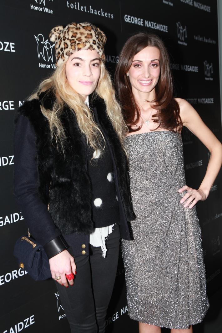 Chelsea Leyland and Mariam Kinkladze Charity Meets Fashion