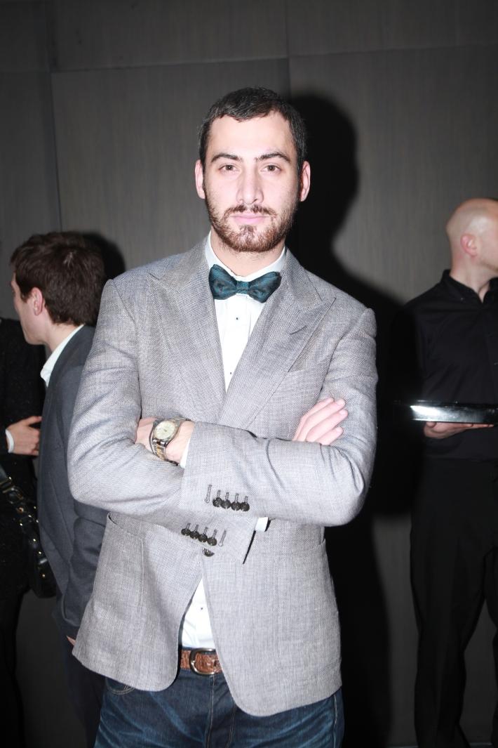 Fashion designer Giorgi Nazgaidze