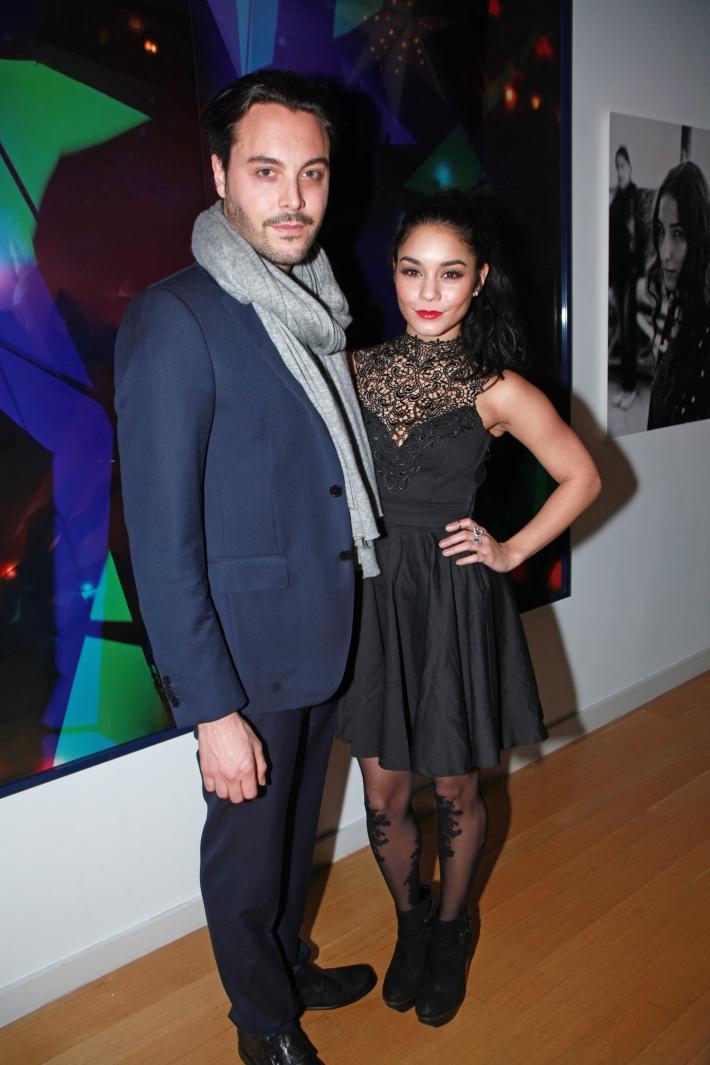 Jack Huston and Vanessa Hudgens Charity Meets Fashion