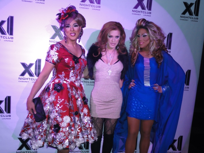 Alexis Mateo, Pandora Boxx and Yara Sofia RuPaul's All Stars Drag Race Premiere Party at XL