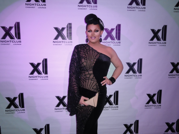 Shannel at RuPaul's All Stars Drag Race Premiere Party at XL