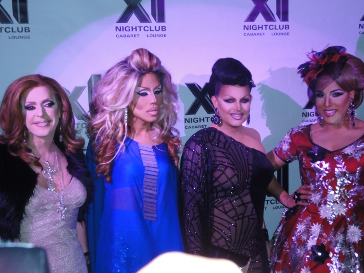 Pandora Boxx, Yara Sofia, Shannell and Alexis Mateo  RuPaul's All Stars Drag Race Premiere Party at XL