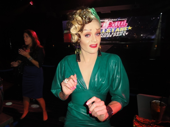 Tammie Brown at RuPaul's All Stars Drag Race Premiere Party at XL