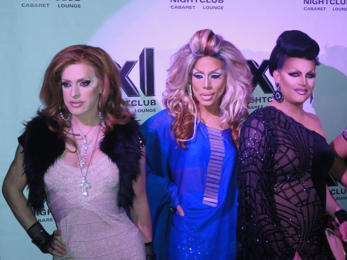 Pandora Boxx, Yara Sofia and Shannel  RuPaul's All Stars Drag Race Premiere Party at XL