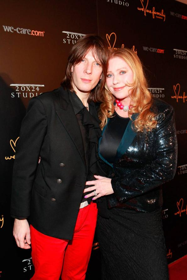 Jim Wallerstein and Bebe Buell at We Are Family Foundation 2012 Celebration Gala 2.0 (photo by © Shahar Azran)