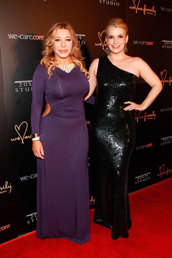 Taylor Dayne and Nancy Hunt at 2013 Celebration Gala 2.0