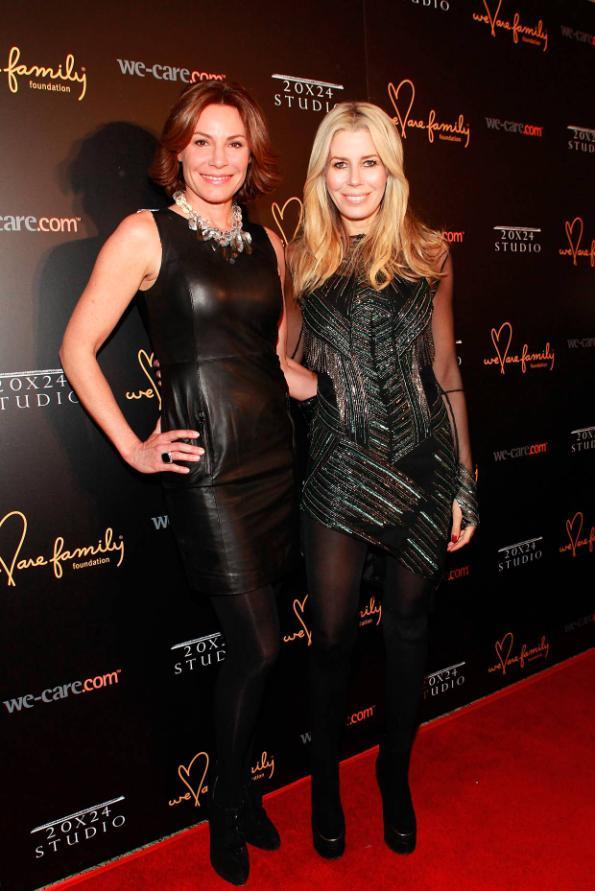 LuAnn De Lesseps and Aviva Drescher at We Are Family Foundation 2012 Celebration Gala 2.0 (photo by © Shahar Azran)