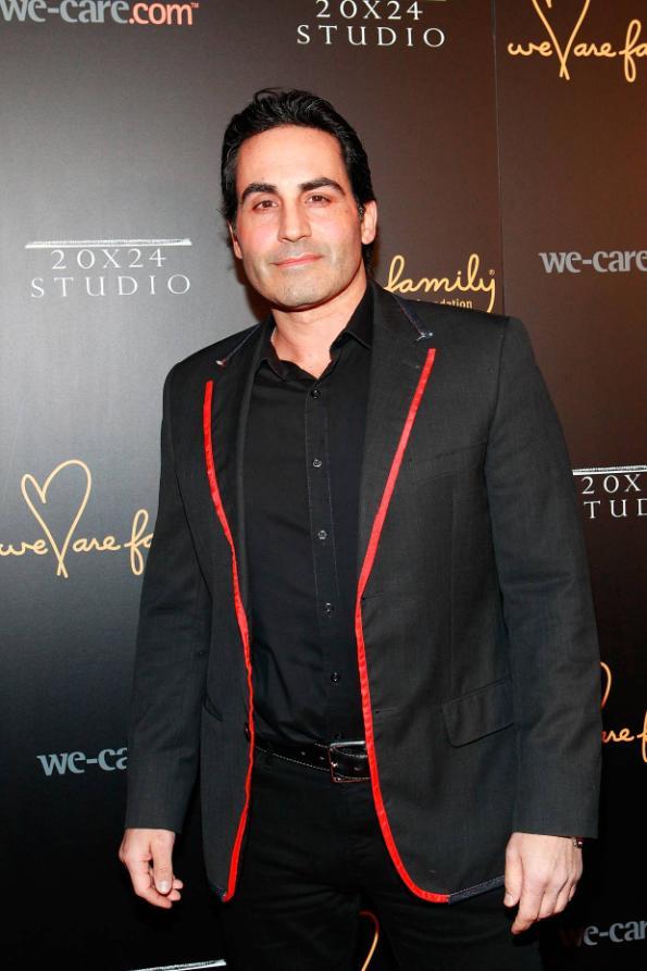 Angelo David at We Are Family Foundation 2012 Celebration Gala 2.0 (photo by © Shahar Azran)