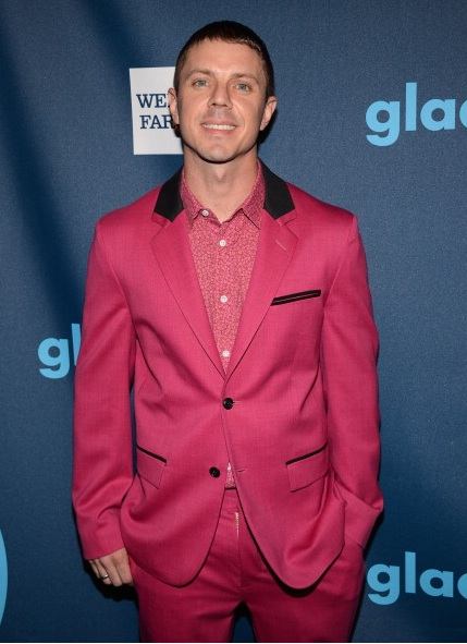 Jake Shears of Scissor Sisters at The 24th Annual GLAAD Media Awards