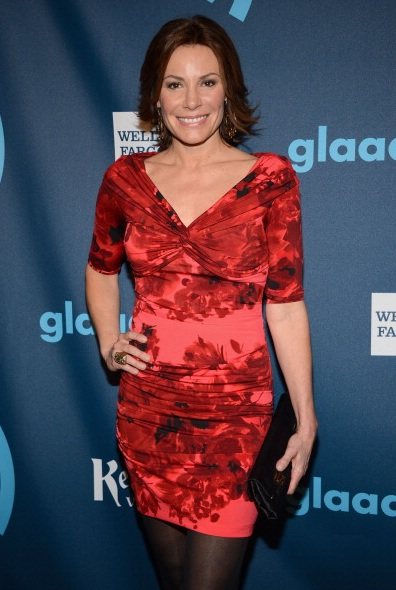 LuAnn de Lesseps at The 24th Annual GLAAD Media Awards