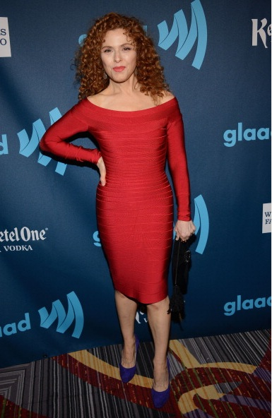 Bernadette Peters at The 24th Annual GLAAD Media Awards