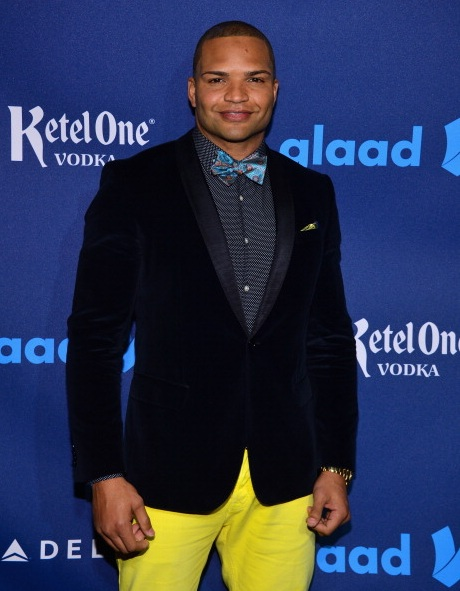 Brendon Ayanbadejo at The 24th Annual GLAAD Media Awards