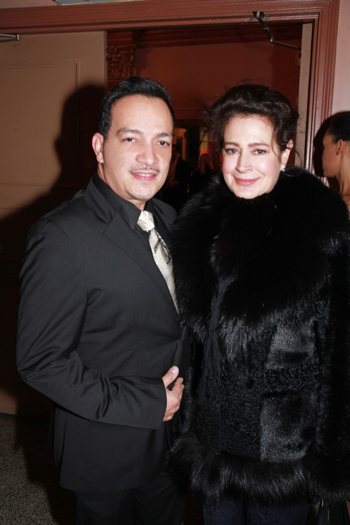 Anthony Rubio and Sean Young at We Are Family Foundation 2012 Celebration Gala 2.0 (photo by © Shahar Azran)