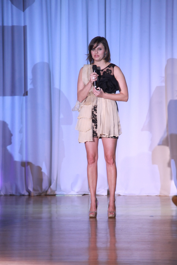 Kim Stolz hosts The Reality Of Fashion benefit for Broadway Cares (Photo by Yoni Levy)