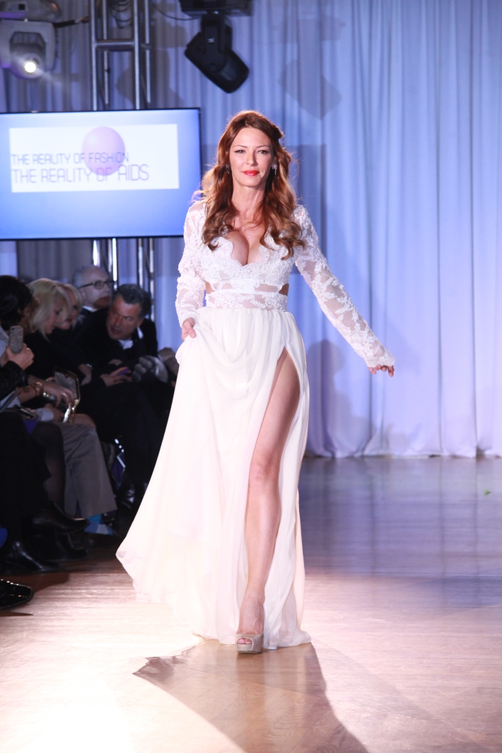 Drita D'Avanzo at The Reality Of Fashion benefit for Broadway Cares (Photo by Yoni Levy)