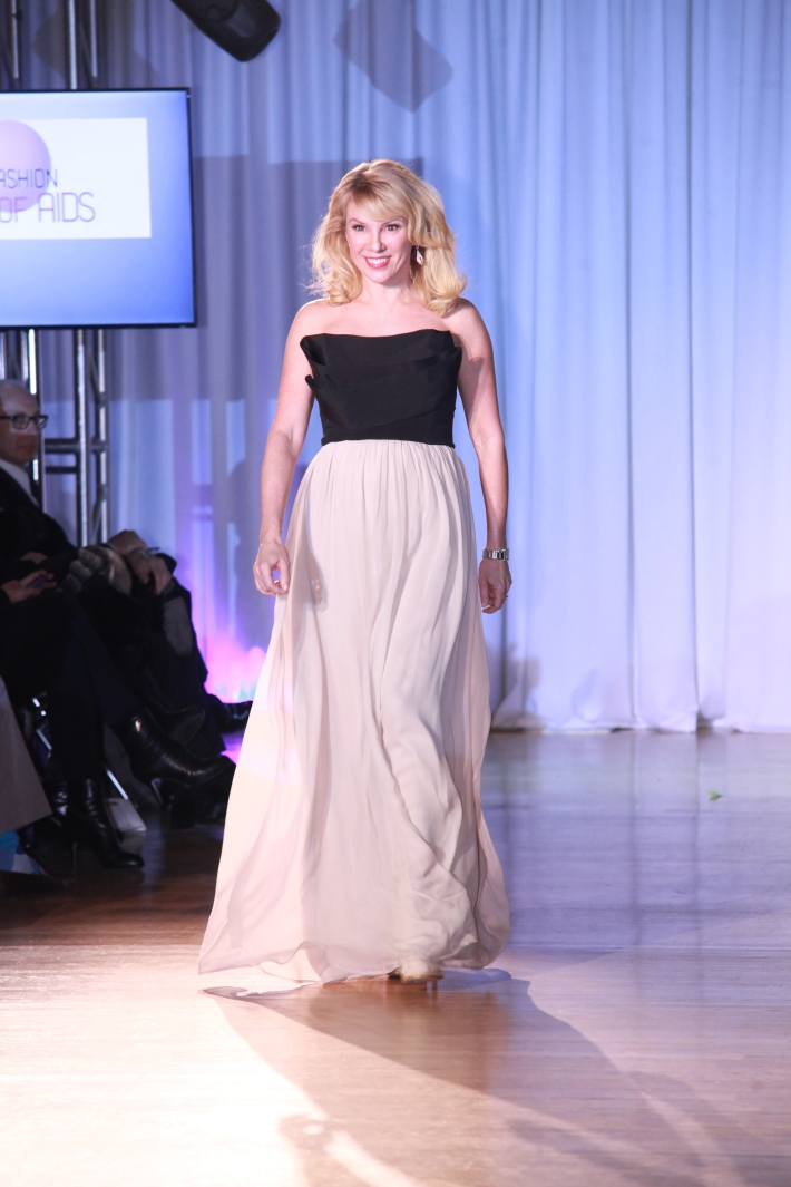 Ramona Singer at The Reality Of Fashion benefit for Broadway Cares (Photo by Yoni Levy)