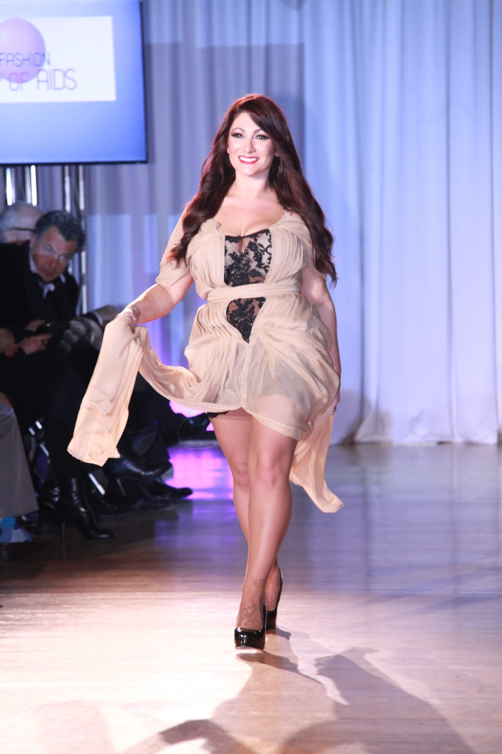 Deena Cortese at The Reality Of Fashion benefit for Broadway Cares (Photo by Yoni Levy)