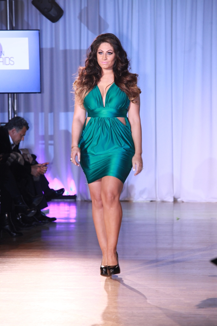Tracy Dimarco at The Reality Of Fashion benefit for Broadway Cares  (Photo by Yoni Levy)