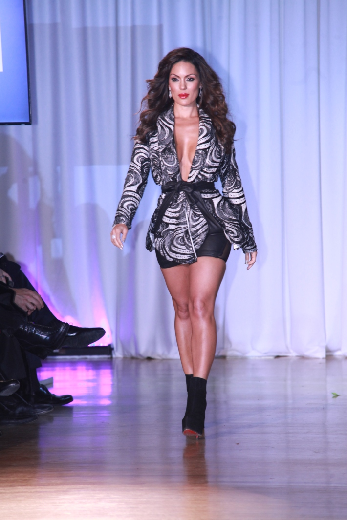 Carissa Rosario at The Reality Of Fashion benefit for Broadway Cares  (Photo by Yoni Levy)