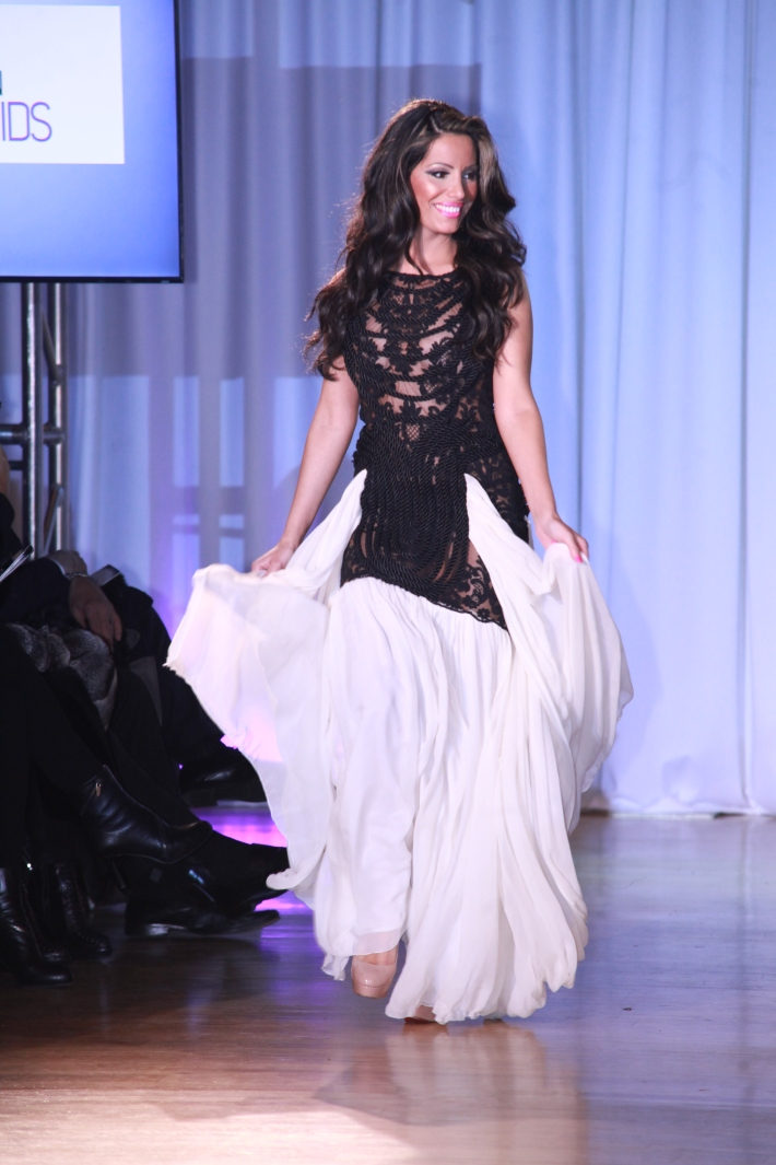Elizabeth Vashisht at The Reality Of Fashion benefit for Broadway Cares (Photo by Yoni Levy)