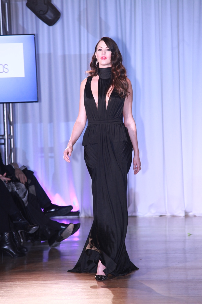 Brittany Brower at The Reality Of Fashion benefit for Broadway Cares (Photo by Yoni Levy)