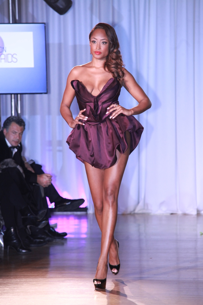 Keenyah Hill at The Reality Of Fashion benefit for Broadway Cares  (Photo by Yoni Levy)