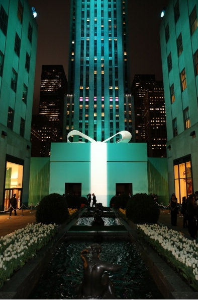 Tiffany & Co. Its Blue Book Ball At Rockefeller Center