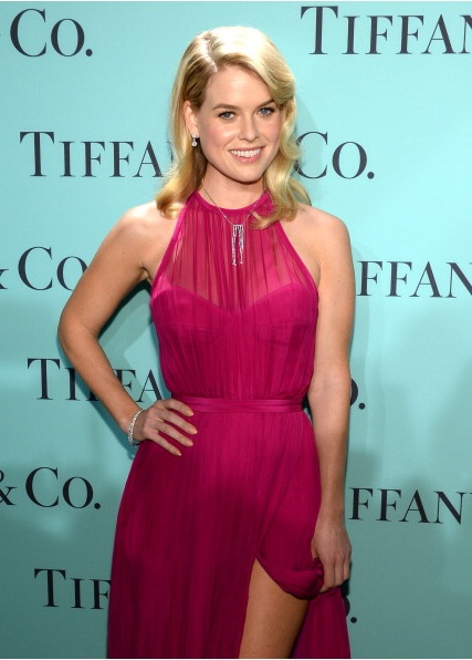 Alice Eve attends Tiffany & Co. Its Blue Book Ball At Rockefeller Center