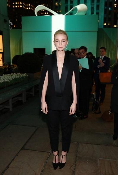 Carey Mulligan attends Tiffany & Co. Its Blue Book Ball
