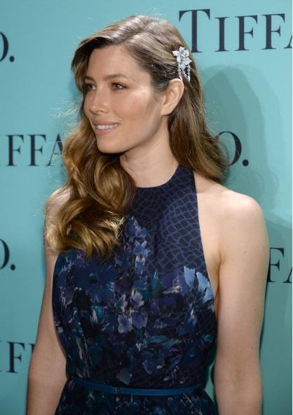 Jessica Biel attends Tiffany & Co. Its Blue Book Ball At Rockefeller Center