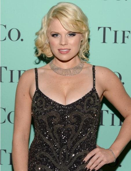 Megan Hilty attends Tiffany & Co. Its Blue Book Ball At Rockefeller Center