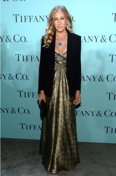 Sarah Jessica Parker  attends Tiffany & Co. Its Blue Book Ball At Rockefeller Center